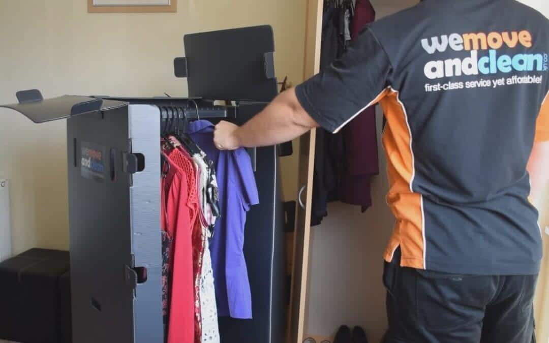 Wardrobe Boxes: Book your house move and get them for free!