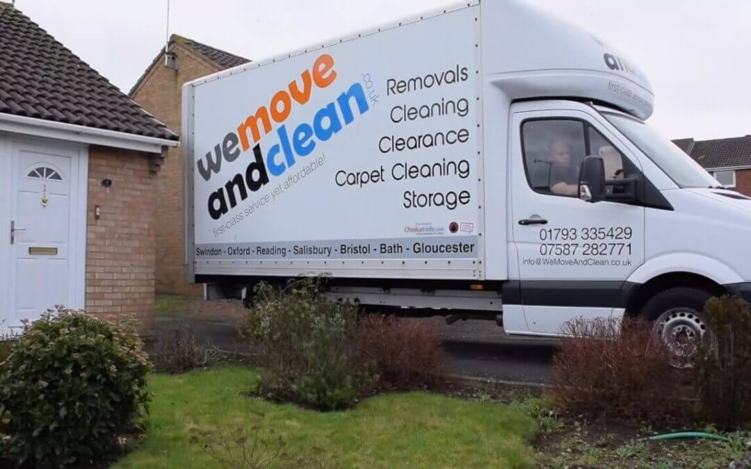 Man with a Van Swindon: Moving on a budget