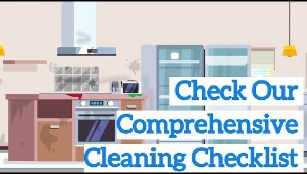 Our Comprehensive Cleaning Checklist